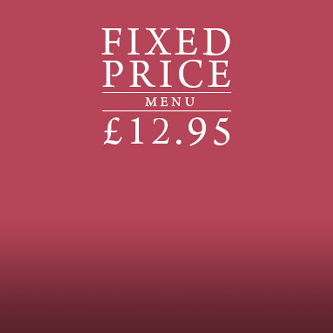 Fixed Price Menu at The Windmill